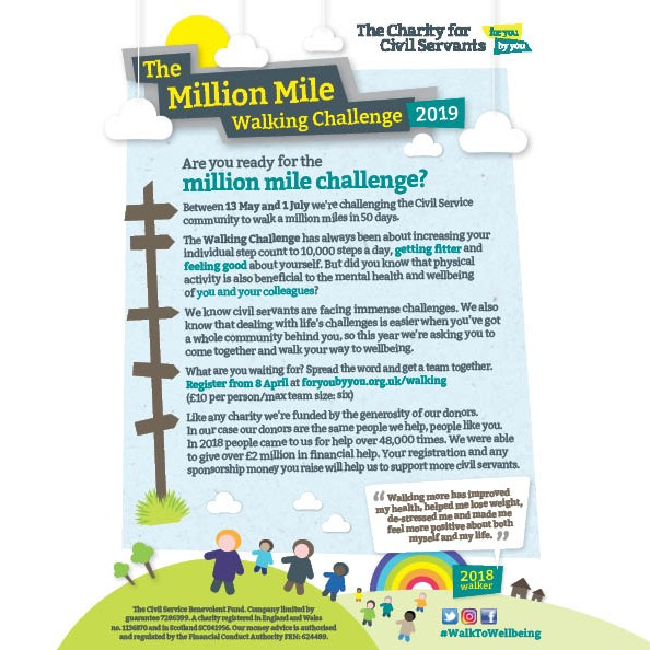 Walking Challenge Leaflet