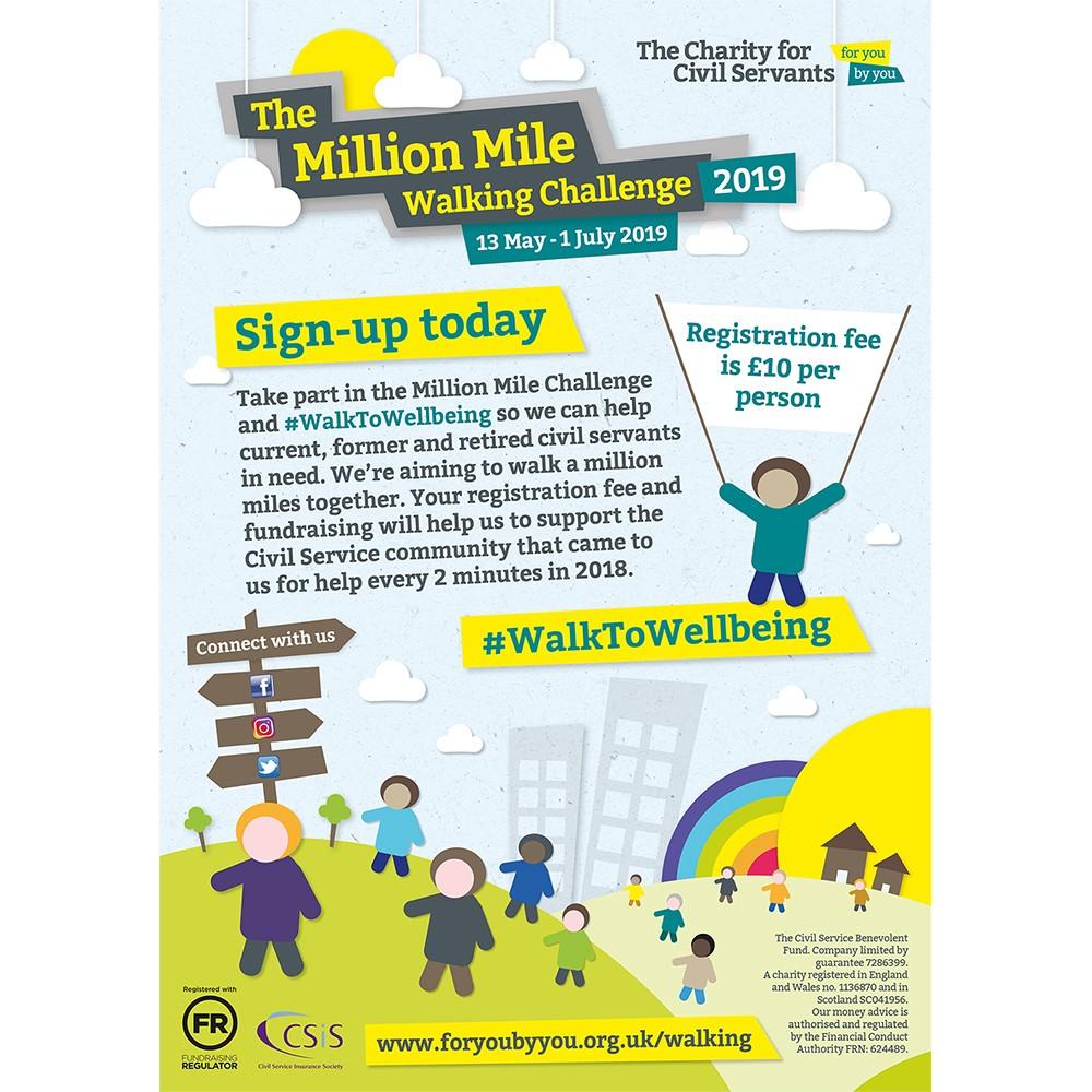 Walking Challenge Poster